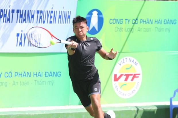 2018年越南男网F5未来赛:李黄南晋级半决赛 hinh anh 1