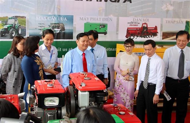 2018年越南国际农业博览会正式开幕 hinh anh 1