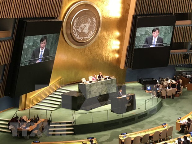 越南驻联合国代表:美国对古巴的制裁政策是美国政策上的倒退 hinh anh 1