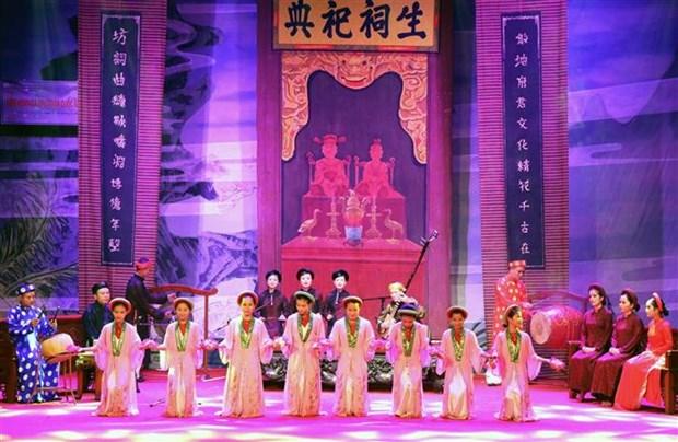 2018年全国歌筹联欢节吸引300名艺人参加 hinh anh 2
