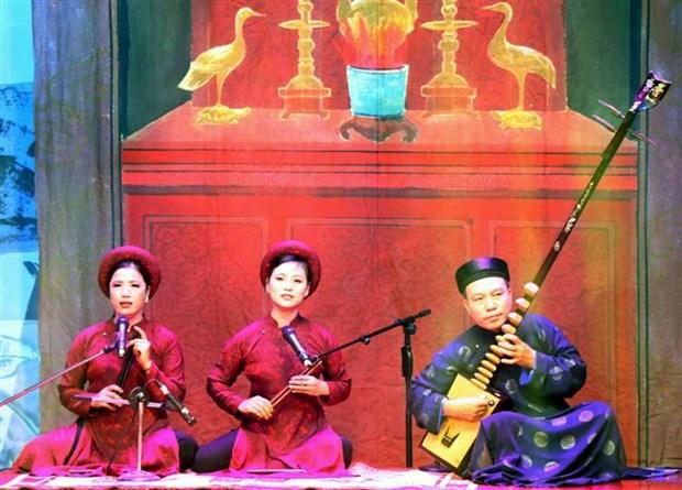 2018年全国歌筹联欢节吸引300名艺人参加 hinh anh 1