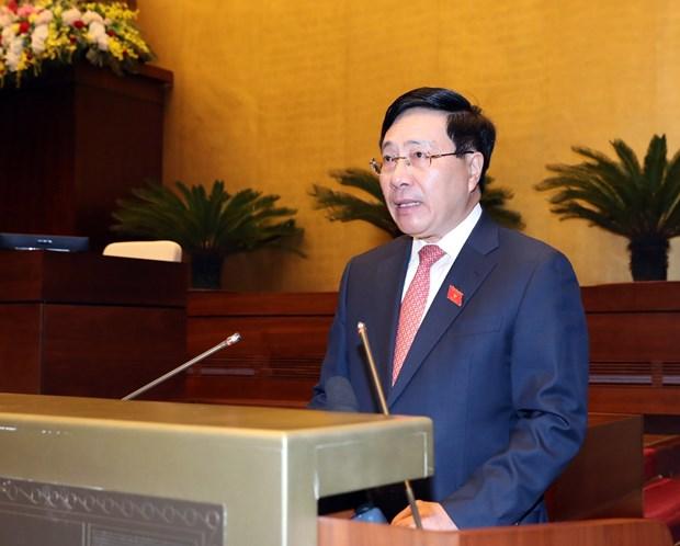 越南十四届国会第六次会议:提高越南在国际和地区舞台上的地位 hinh anh 3
