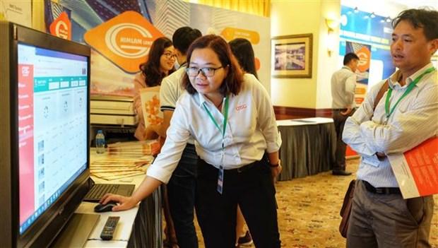 2018年越南数字经济论坛在胡志明市举行 hinh anh 2