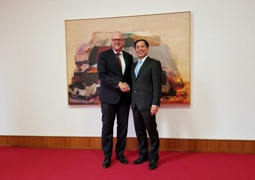 越南与德国着力加强外交关系 hinh anh 1