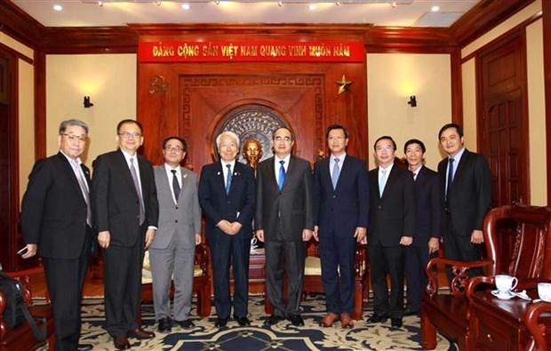 大力加强越南胡志明市与日本兵库县的合作 hinh anh 2