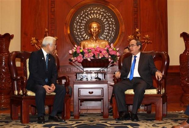 大力加强越南胡志明市与日本兵库县的合作 hinh anh 1