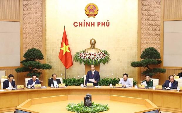 阮春福总理:信任投票结果敦促政府采取更强有力的行动 hinh anh 1