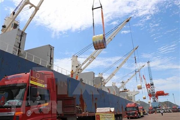 今年前10月越南港口货物吞吐量达4.3万多吨 hinh anh 2