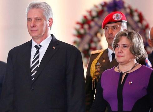 古巴国务委员会主席兼部长会议主席迪亚斯-卡内尔即将访问越南 hinh anh 1