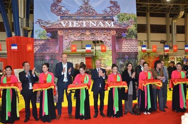 越南参加2018年法国格勒诺布尔国际消费品展销会 hinh anh 1