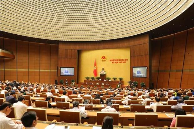 第十四届国会第六次会议: 国会就批准CPTPP问题进行讨论 hinh anh 1
