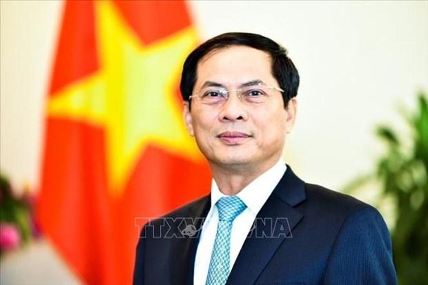 越南外交部常务副部长裴青山会见旅德越南人群体 hinh anh 1