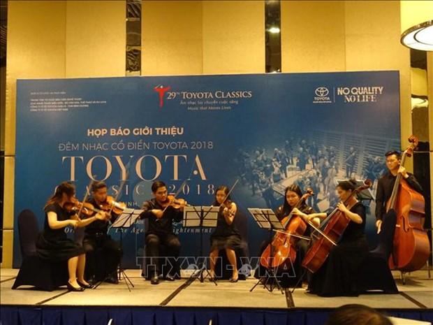2018年丰田古典音乐晚会将于11月17日举行 hinh anh 2