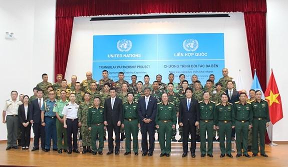 2018年工兵重器级设备运行培训班即将开班 hinh anh 1