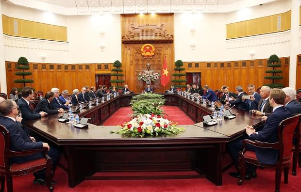 政府副总理王廷惠:外商直接投资是越南经济体的一部分 hinh anh 1