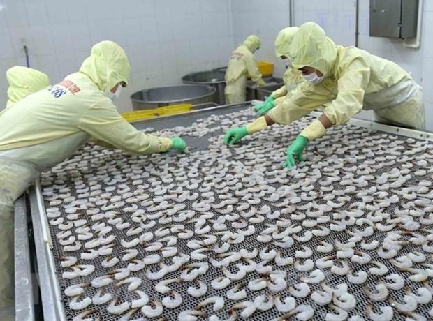 今年前10月越南水产出口额增长6.2% hinh anh 1