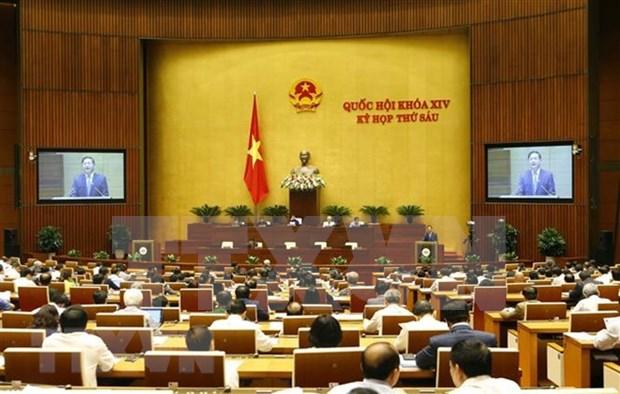 第十四届国会第六次会议:讨论两项法案 hinh anh 1