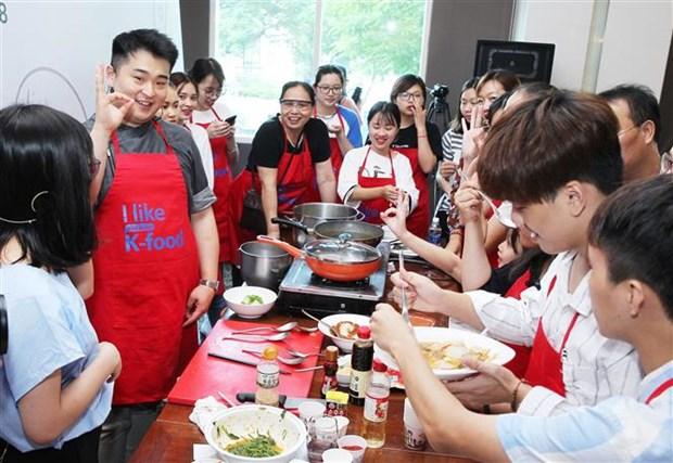 韩国厨师在越南推介传统美食 hinh anh 1