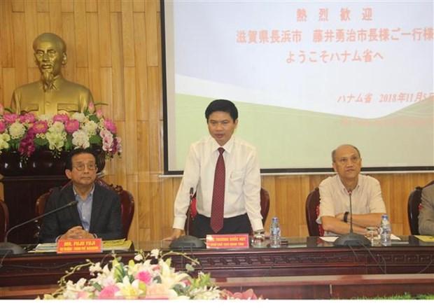 日本企业赴河南省了解投资环境 hinh anh 1