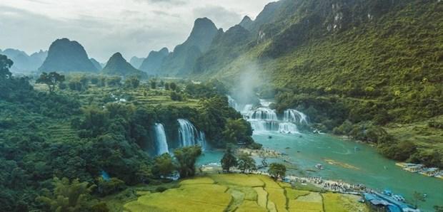 高平山水全球地质公园证书颁证仪式将于本月24日举行 hinh anh 1