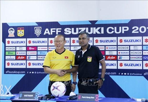 2018年铃木杯东南亚足球锦标赛:战胜越南队老挝队将获得奖励 hinh anh 1