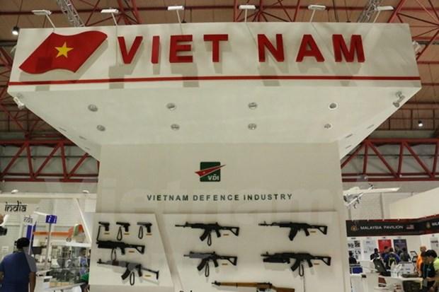 越南参加印度尼西亚国际国防工业展 hinh anh 1