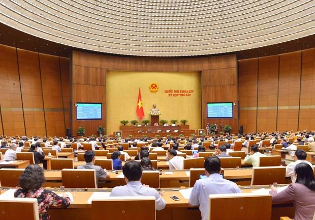 第十四届国会第六次会议:国会通过关于2019年经济社会发展计划的决议 hinh anh 1