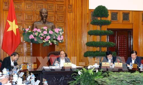 阮春福总理就BOT项目主持召开政府常务会议 hinh anh 1