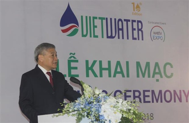 越南2018胡志明市国际水处理展拉开序幕 hinh anh 1
