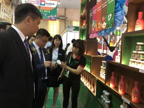 2018年越南食品饮料及包装机械国际展览会正式开幕 hinh anh 1