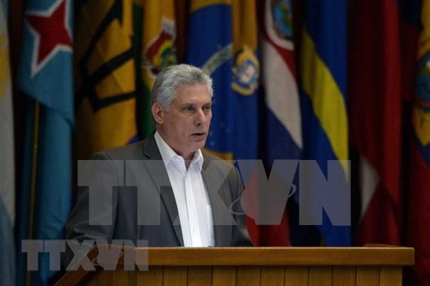 古巴国务委员会主席兼部长会议主席访越:继续推进越古特殊关系发展 hinh anh 1