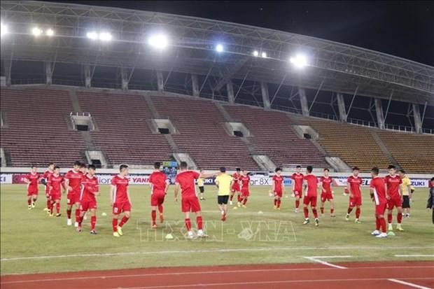 2018年铃木杯东南亚足球锦标赛:越南队严阵以待迎战老挝队 hinh anh 1