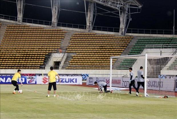 2018年铃木杯东南亚足球锦标赛:越南队严阵以待迎战老挝队 hinh anh 2