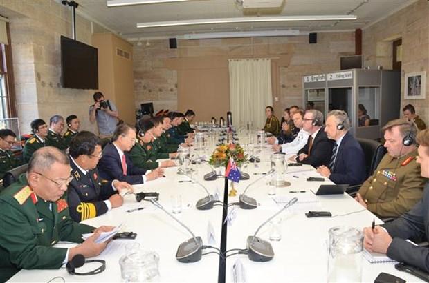 越南与澳大利亚签署《防务合作联合愿景声明》 hinh anh 2