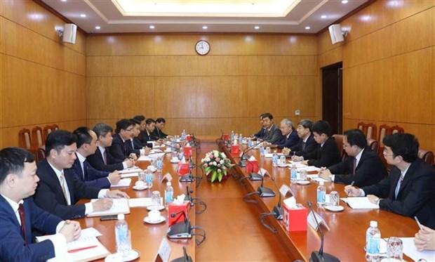 越共中央经济部同中国国务院发展研究中心加强交流与合作 hinh anh 1