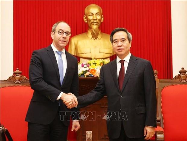 越南高度重视促进越美合作 hinh anh 1