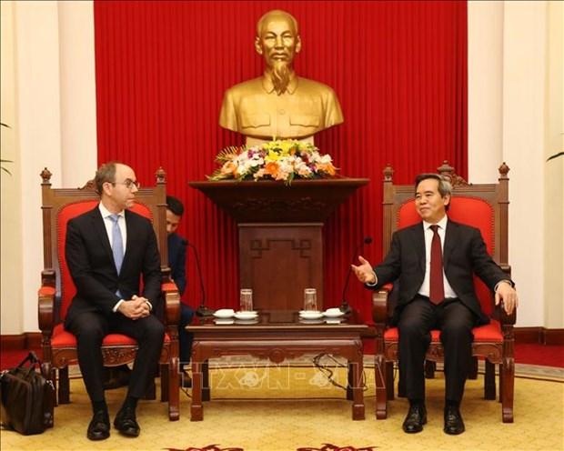 越南高度重视促进越美合作 hinh anh 2