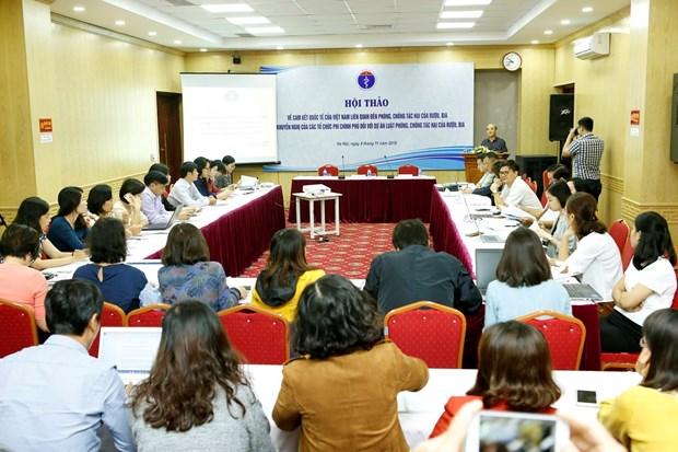 越南承诺到2030年将过度饮酒和饮啤酒危害健康的人数下降至10% hinh anh 1
