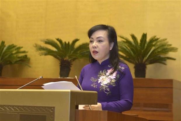 第十四届国会第六次会议:讨论规划工作有关各法律修改补充法律草案 hinh anh 1