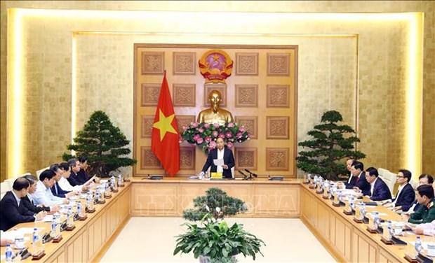 经济社会小组召开第一次会议 为越共十三大做准备 hinh anh 1