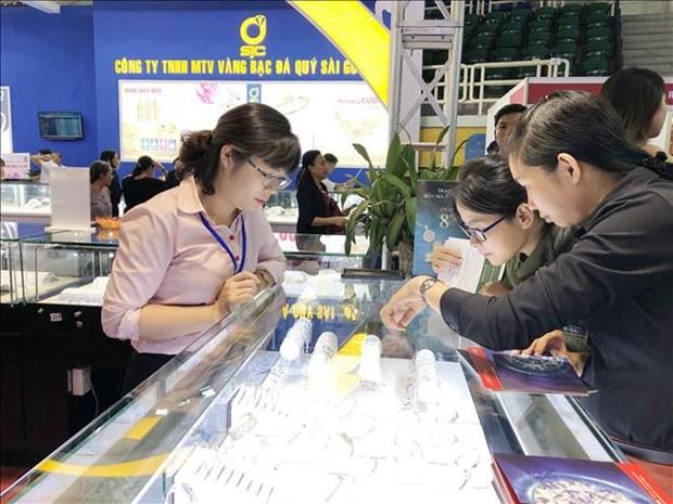 2018年第27届越南国际首饰展览会在胡志明市举行 hinh anh 1