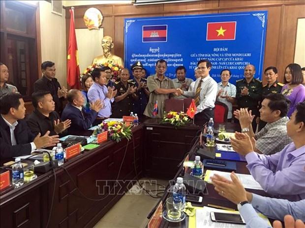 越柬同意将得迫尔与南里尔口岸升格为国际口岸 hinh anh 1