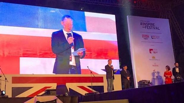 """""""鼓舞我""""——2018年英国文化节活动在河内拉开序幕 hinh anh 1"""