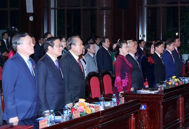 阮氏金银出席2018年越南法律日响应活动 hinh anh 1