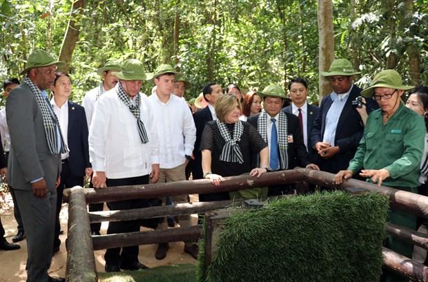 古巴国务委员会主席兼部长会议主席迪亚斯-卡内尔圆满结束对越南进行的正式友好访问 hinh anh 1
