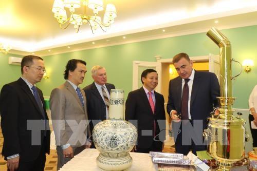 俄罗斯图拉州与越南各地方加强合作 hinh anh 2