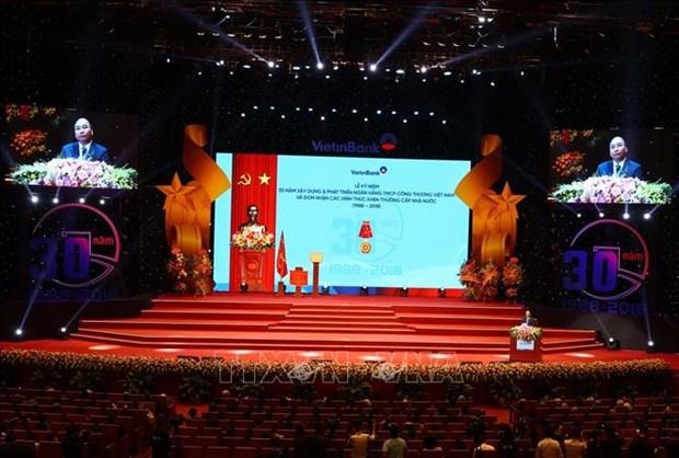 政府总理阮春福:确保经济各种领域的资金平衡能力 hinh anh 1