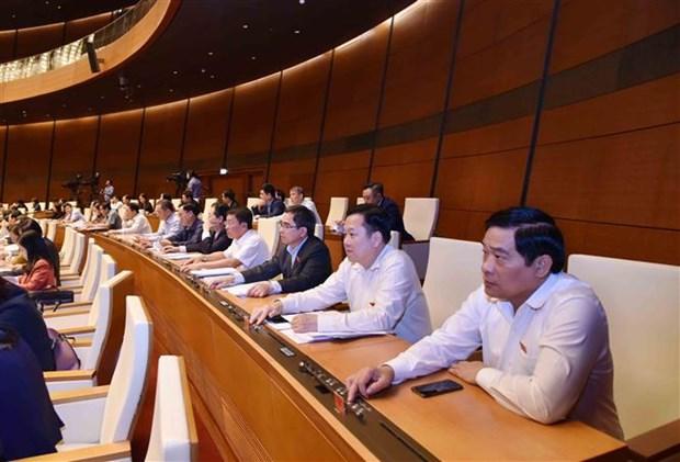 越南第十四届国会第六次会议:通过公共投资中期计划调整决议 hinh anh 2