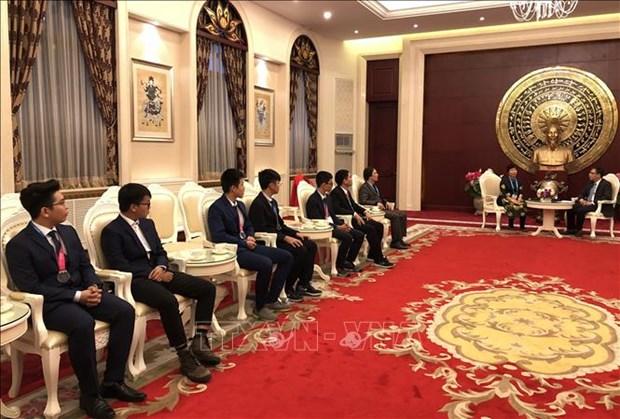 越南学生获得国际天文与天体物理奥林匹克竞赛金牌 hinh anh 2