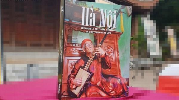 河内非物质文化遗产一书正式亮相 hinh anh 1